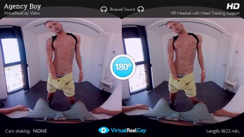 Agency Boy – VirtualRealGay