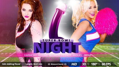 Super Bowl Night – VirtualRealPorn