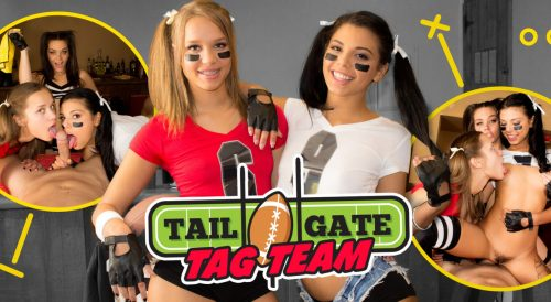 Tailgate Tag Team – WankzVR