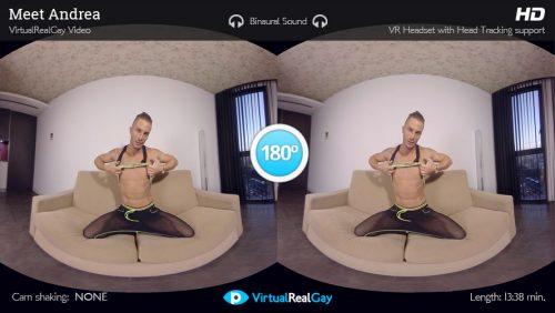 Meet Andrea – VirtualRealGay